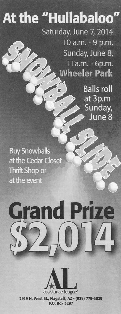 Snowball slide 2014 cover